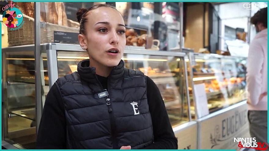 Nantes & Vous TV - Ma vie de Cheffe - ZOÉ BARAUD - Responsable boutique boulangerie