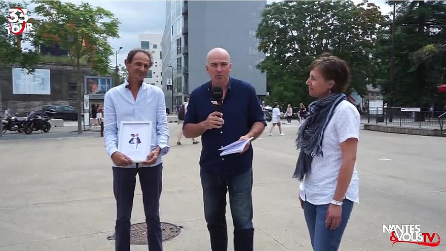 Nantes & Vous TV : Découvrez Anne et Franck, deux auteurs