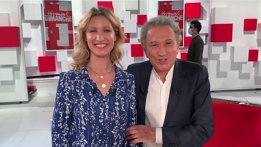 Michel Drucker et Alexandra Lamy