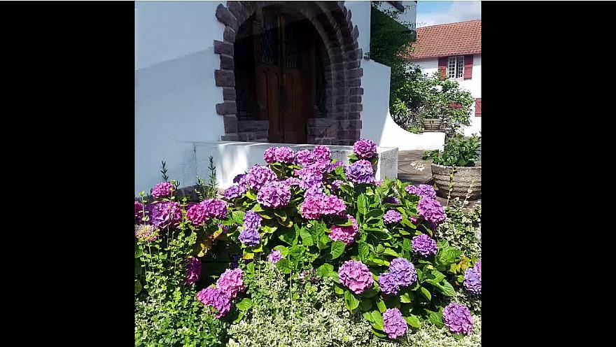 Le samedi au jardin de la maison Basque SSR (64)